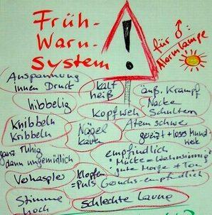 Gelassenheit Fruehwarnsystem